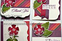 Paper Flower Stamp Set