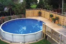 Beautiful Outdoor Escapes / An above ground pool or spa not only offers a fun, relaxing element to your backyard oasis, it offers a new range of home design ideas. Explore the possibilities!