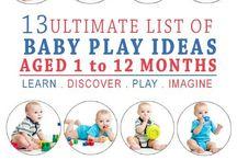 zabawy dla 1-12 miesięcznych dzieci