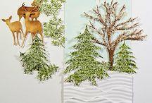 Card Ideas - Deer/out doors etc / by Bobbie Sumpter