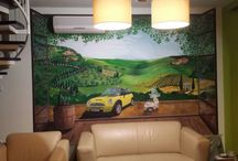 1 - decorational wall paintings by Art-Kor / customized wall murals