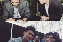 Harry and Matt