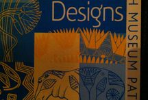 Ancient Floral Egyptian Designs / Patterns and paintings from Egypt, collected in book by Eva Wilson