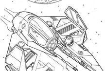 Star wars omalovánky