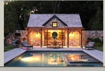 Pool houses Normandie / Idées pour le jardin/poolhouse de Betteville
