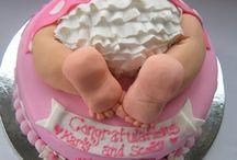 baby bum cake