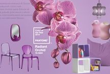 Radiant Orchid / Color of the year 2014