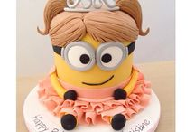 Minion bday cake ideas