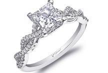 P R I N C E S S / Princess-cut diamond engagement rings