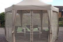 Garden Gazebo Tent Patio Outdoor Canopy Home Furniture Park Folding Curtains Net