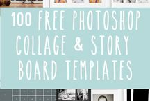 Collages and templates