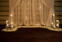 Romantic weddings indoor decor