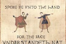 Bayeux Tapestry Funnies