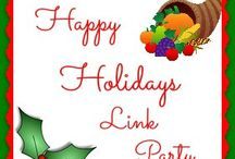 Happy Holidays Link Party / All links from our holiday blog hop party. BOARD NOT OPEN TO INVITATIONS.  FOR LINK PARTY HOSTS ONLY  **Board slated for deletion--pins will be moved to my group Holidays board** / by The Midnight Baker | Judith Hannemann