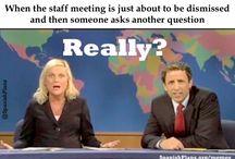 Staff meeting humour
