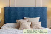 Beautifully spotted headboards