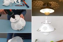 Light up! / Unusual lighting ideas.