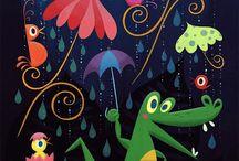 rainforest illustrations