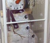 snowmen / by Betty Ann Allen