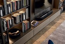 Book Shelves Media cabinets