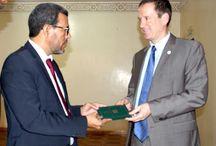 موريتانيا: رئيس المعهد الجمهوري الدولي الامريكي يزور مؤسسة المعارضة http://elhourriya.net