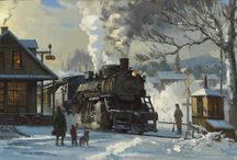 Steam Locomotives Art / Steam Locomotives Art