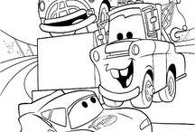 Väritys autot ym. koneet