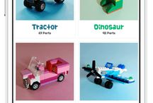Lego Inspiration for Kids - with Instructions