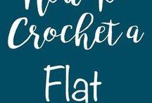 crochet FLAT JOIN