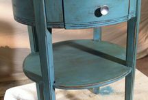 Chalk paint / Painting with chalk paint