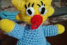 crochet/knit simpsons