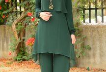 Working dress muslim
