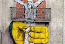 Arte de Rua / As cores da rua que a gente aprecia dando um rolé