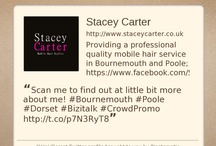 About ME! / Providing a quality mobile hairdresser service at your convenience in Bournemouth, Poole and throughout Dorset. With no high hairdressing salon overheads to worry about, I provide a quality mobile hairdressing experience at a great affordable price. Bringing the Hairdressing Salon experience to the comfort of your own home.   Visit http://www.staceycarter.co.uk/