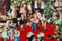 Peter Blake / Sir Peter Thomas Blake, CBE, RDI, RA (born 25 June 1932) is an English pop artist, best known for co-creating the sleeve design for the Beatles' album Sgt. Pepper's Lonely Hearts Club Band.