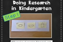 Research Writing In Kindergarten / by Sarah Hoglund
