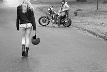 Ensaio Feminino Moto