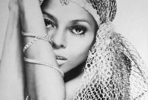 Diana Ross : she with the fabulous voice and hair. / I would love to see one of her concerts.