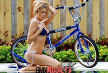 Girls with bikes
