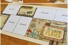 scrapbook generation layouts