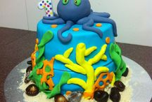 Ella's 1st Birthday Party!  / Under the sea ocean themed party