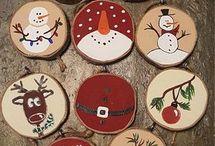 ξύλα Χριστουγεννιατικα