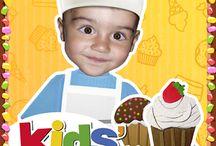 Applications gourmandes / Une sélection d'applications sur la cuisine pour la jeunesse