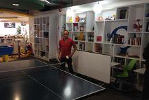 Visita a Google México / Ivan Cruz, miembro de nuestro equipo en su visita en las oficinas de Google México