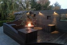 Client Images / Images our clients have sent us, using Solus Decor fire pits and water features.