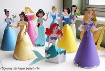 3 ans Disney princesse