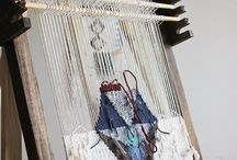 Weaving tapestry - tapiséria