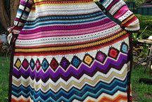Crochet Sweaters, Shawls & Boleros