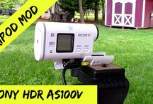 Sony HDR AS100V Videos / Sony HDR AS100V action camera videos and reviews / by Allyn Hane
