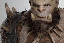 Creature Design - Orcs